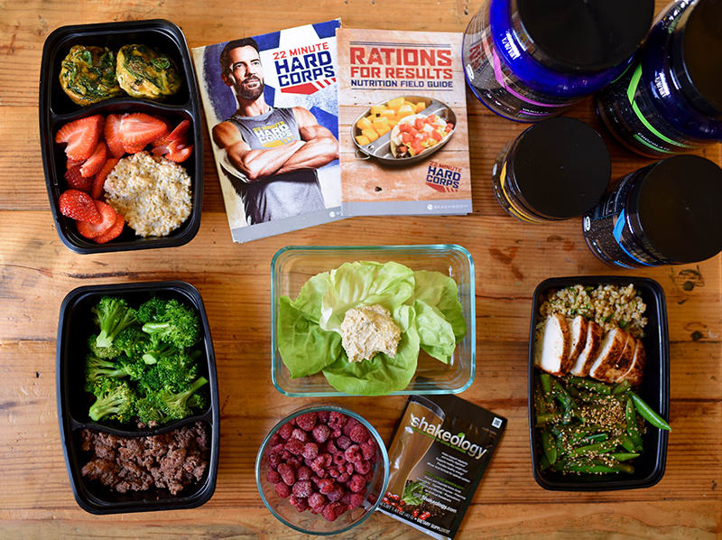 22 Minute Hard Corps Meal Prep for the 1200-1500 Calorie Level | BeachbodyBlog.com