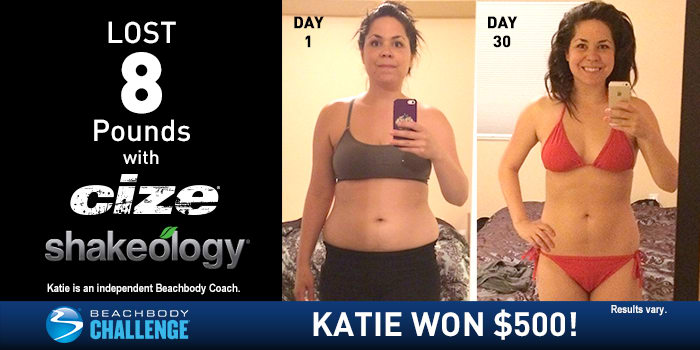 "CIZE Results: Katie Danced Off Her ""Mommy Body"" In 30 Days!"