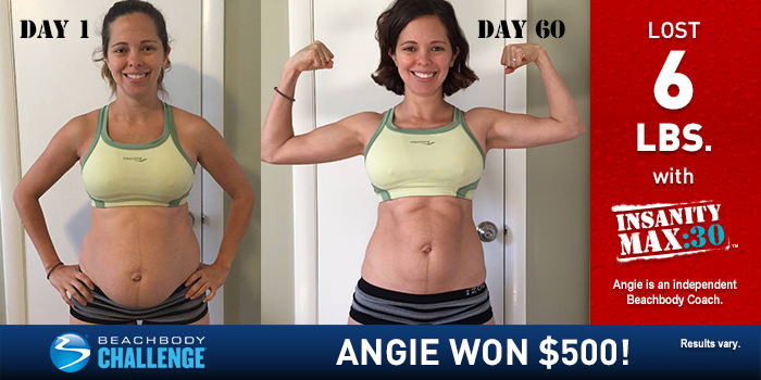 INSANITY MAX:30 Results: This Mother of Two Dropped the Baby Weight in 60 Days