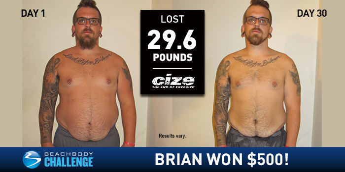 CIZE Results: This Veteran Lost 29.6 Pounds!