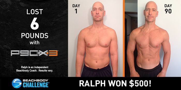 P90X3 Results: Ralph Got Ripped and Racked Up $500!