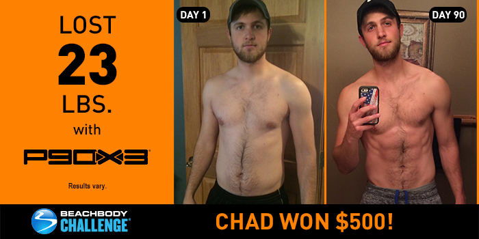 P90X3 Results: Chad Lost 23 Pounds in 90 Days!