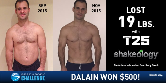 FOCUS T25 Results: Dalain Lost 19 Pounds in Nine Weeks ...