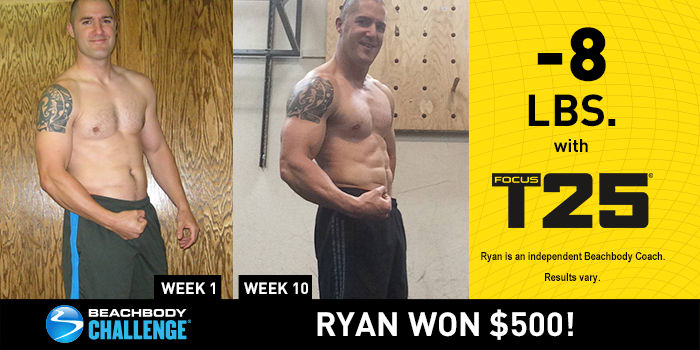 FOCUS T25 Results: This Firefighter Got Ripped in 10 Weeks!