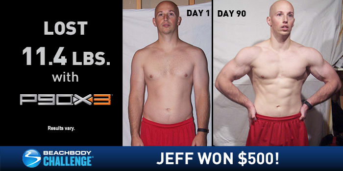 P90X3 Results: Jeff Got Ripped In Just 30 Minutes a Day!