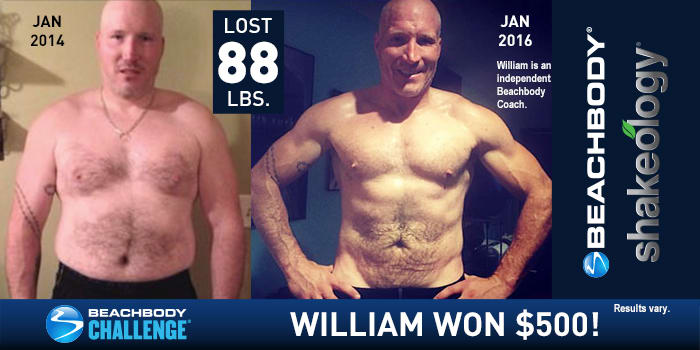 Beachbody Results: Find Out How William Lost 88 Pounds