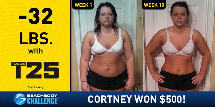 FOCUS T25: This Working Mom Lost 32 Pounds in 10 Weeks!