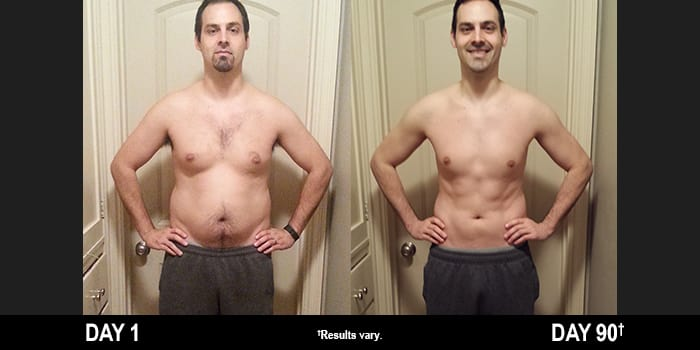 P90X3 Results: Tony Lost 19 Pounds in 90 Days