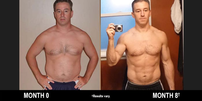 P90X Results: This Father of Five Lost 36 Pounds in Eight