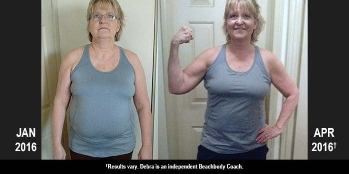 21 Day Fix Results: Debra Lost 28 Pounds in Three Months!