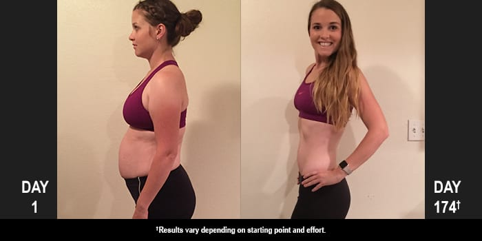 PiYo Results: Amy Lost 41 Pounds and 33 Inches!