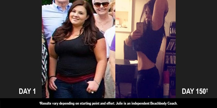 CIZE Results: Julie Danced Off 66 Pounds in 150 Days!