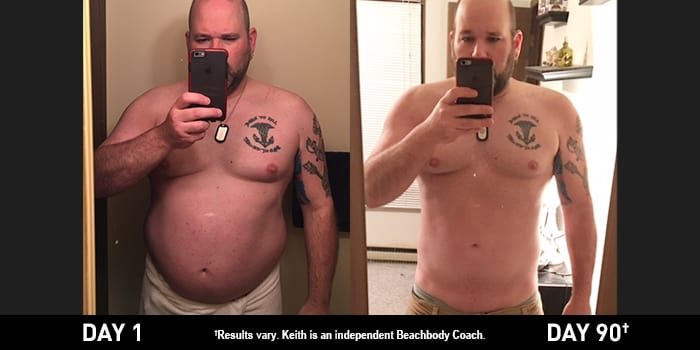 Body Beast Results: Keith Lost 47 Pounds in Just 90 Days!