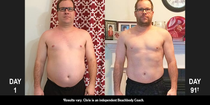 21 Day Fix: Chris Lost 36 Pounds in 91 Days!