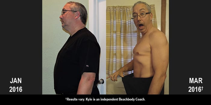 21 Day Fix Results: Kyle Lost 47 Pounds and Won $500