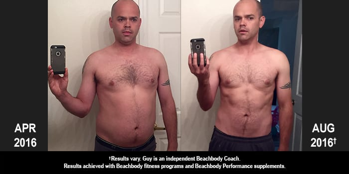 INSANITY MAX:30 Results: Guy Lost 29 Pounds in Four Months!