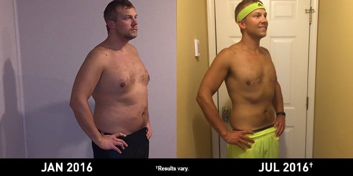 INSANITY MAX:30 Results: Jesse Lost 44 Pounds! | The