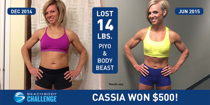 Mother of Two Lost 14 Pounds with PiYo and Body Beast | The
