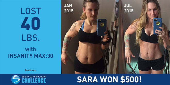 INSANITY MAX:30 Results: This Mother Lost Her Baby Weight