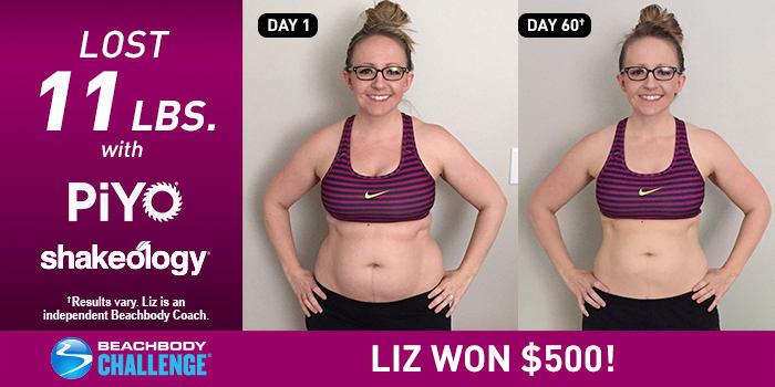 PiYo Results: Liz Got Lean in 60 Days!