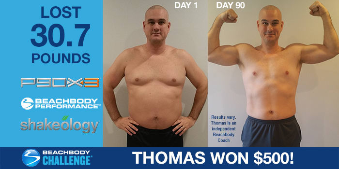 P90X3 Results: Father of Five Loses Over 30 Pounds in 90 Days, Wins $500!