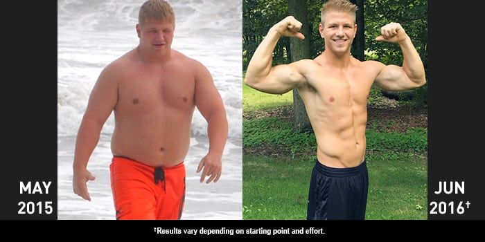 P90X Results - Before & After Success - 41.2KB