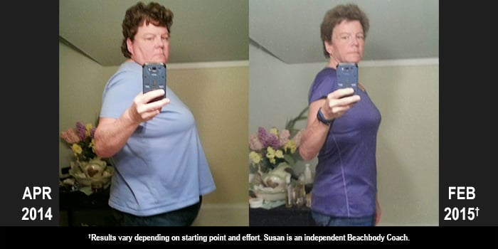Beachbody Results: Susan Lost 122 Pounds in Just 10 Months!