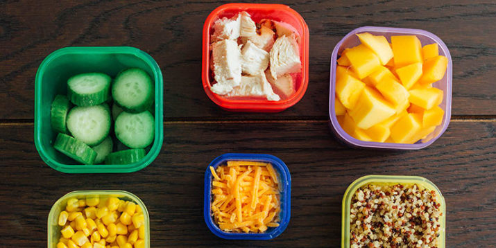 5 Simple Lunches You Can Make Using Portion Fix Containers