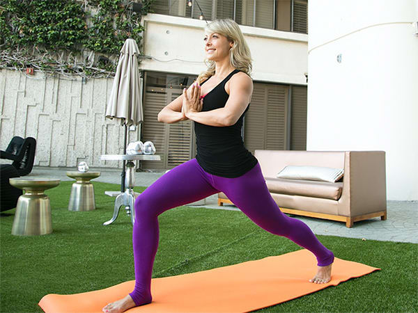 6 Yoga Poses For A Better Butt Crescent