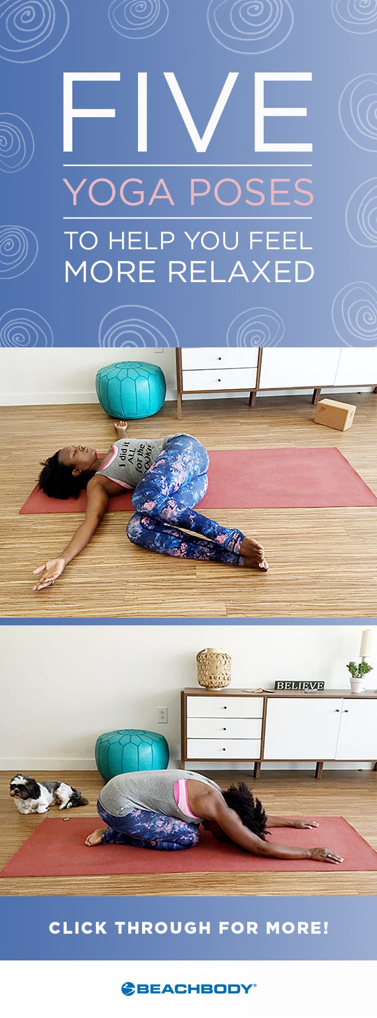 Yoga Poses to Help You Feel More Relaxed