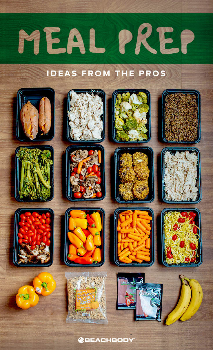 Meal Prep Ideas from the Pros