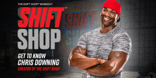 Who is Chris Downing of Shift Shop?