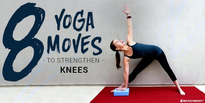 8 Yoga Poses for Stronger Knees