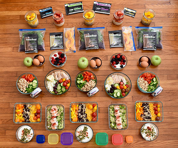 Almost No-Cook Meal Prep 1,500-1,800