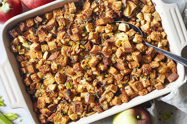 Apple and Chestnut Stuffing Recipe