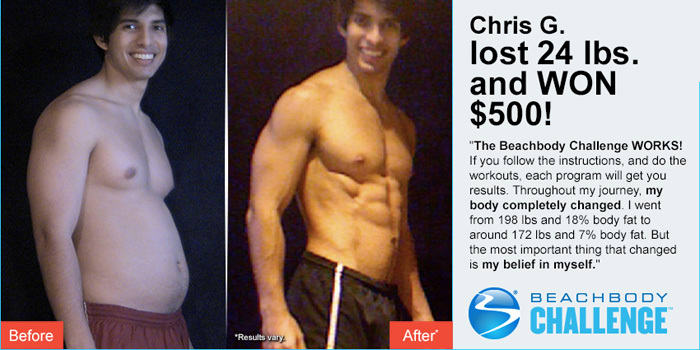 Beachbody Results: Chris Lost 24 Pounds and 11% Body Fat!   The Beachbody  Blog
