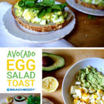 This healthy Avocado Egg Salad Toast is perfect for those of us who love egg salad but want to avoid all that mayonnaise.