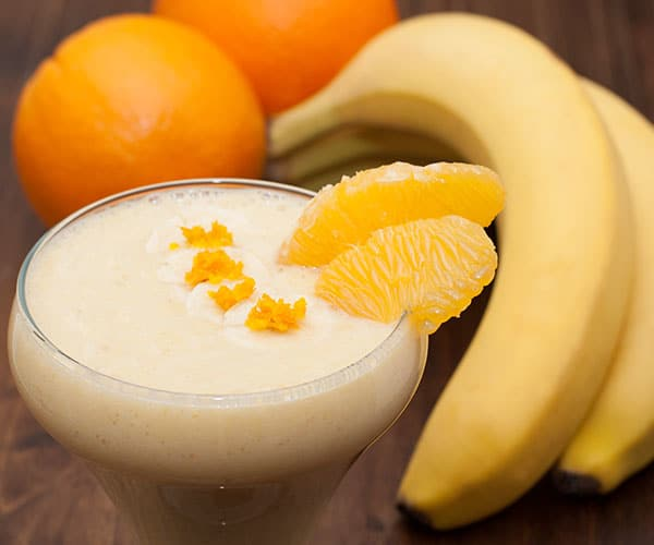Banana Sunshine Smoothie