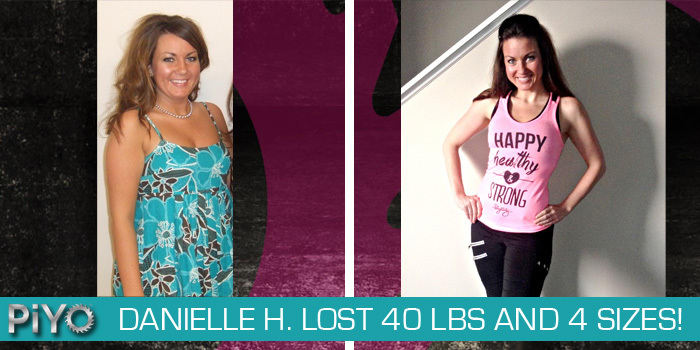 Piyo Results Danielle Lost 40 Pounds And Improved Her Flexibility The Beachbody Blog