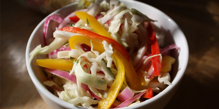 Bell Pepper And Cabbage Slaw Recipe The Beachbody Blog