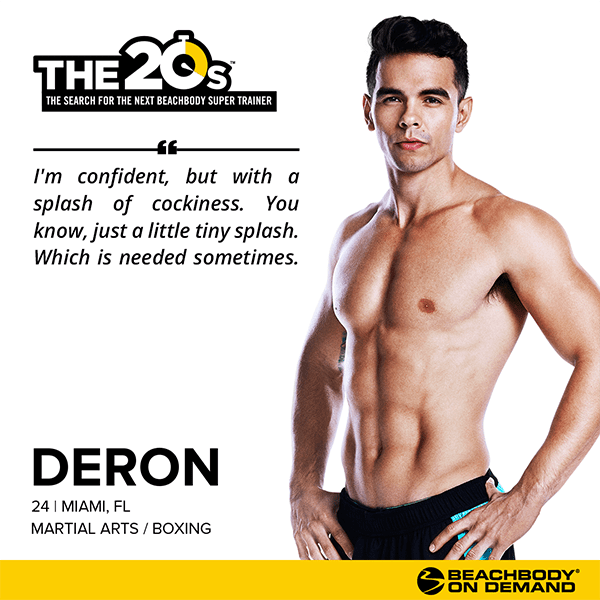 Beachbody On Demand The 20s Deron | BeachbodyBlog.com