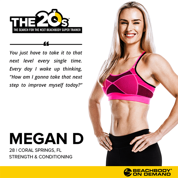 Beachbody On Demand The 20s Megan D | BeachbodyBlog.com