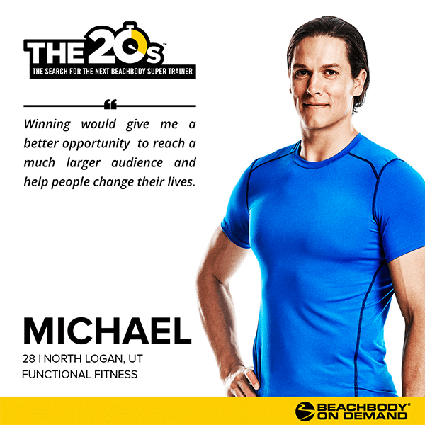 Beachbody On Demand The 20s Michael | BeachbodyBlog.com