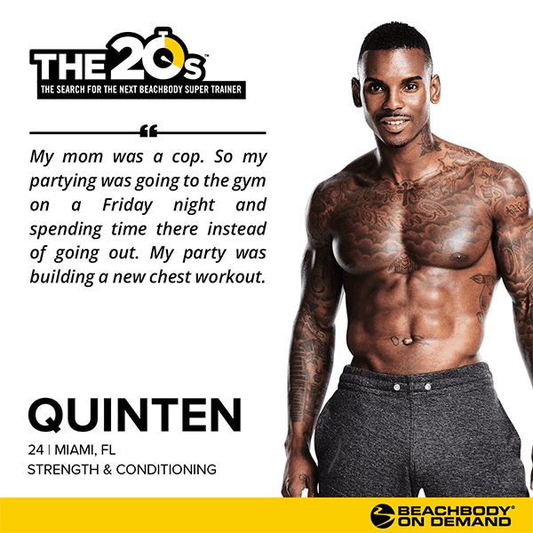 Beachbody On Demand The 20s Quinten | BeachbodyBlog.com