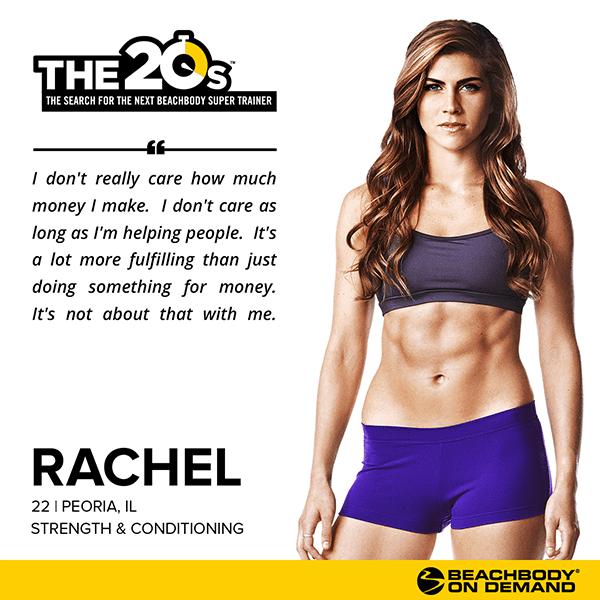 1e82f647239 Beachbody On Demand The 20s Rachel