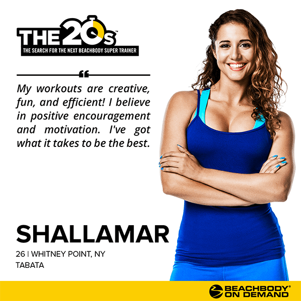 Beachbody On Demand The 20s Shallamar | BeachbodyBlog.com