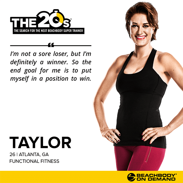 Beachbody On Demand The 20s Taylor  BeachbodyBlog.com
