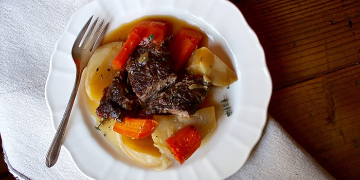 Beef Pot Roast Recipe with Root Vegetables | The Beachbody ...