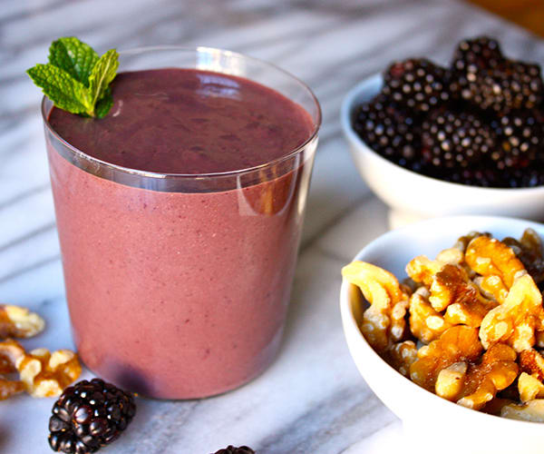 Blackberry Walnut Chocolate Shakeology Recipe