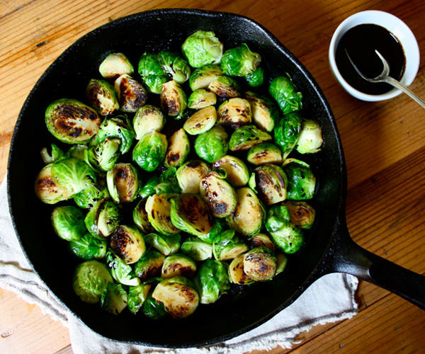 Blistered Brussels Sprouts | BeachbodyBlog.com